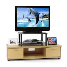 Tv Furniture Amazon Com Furinno 13191dbr Bk Turn N Tube No Tools 2 Tier