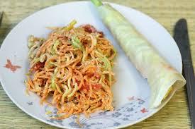 recette cuisine crue alimentation vivante crue salade sauce aux amandes