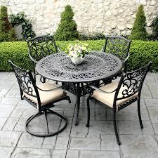 patio ideas white metal mesh outdoor furniture white wrought