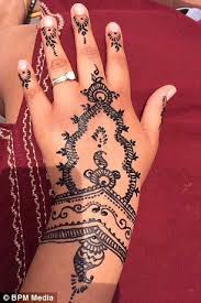 henna tattoo nightmare for british holidaymaker in morocco daily