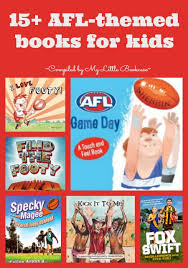 Book List Books For Children My Bookcase Afl Themed Books For My Bookcase Stylespaceandstuff
