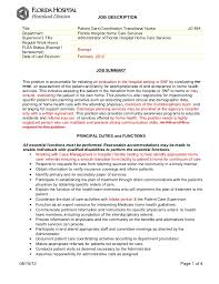 patient coordinator resume gse bookbinder co
