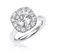 plain band engagement ring spectacular square halo engagement ring with plain band