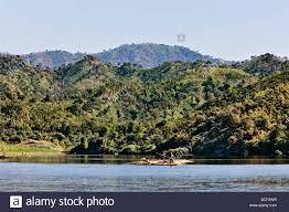 myanmar burma lay mro river floating bamboo down the