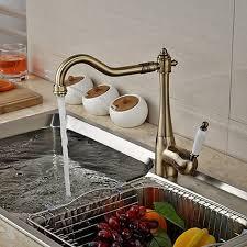 kitchen faucets wholesale wholesale and retail promotion deck mounted kitchen faucet antique