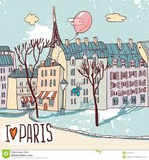 paris urban sketch royalty free stock images image 31278219