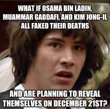 Gaddafi Meme - what if osama bin ladin muammar gaddafi and kim jong il all