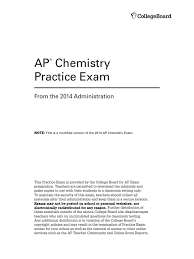 2014 practice exam advanced placement test assessment