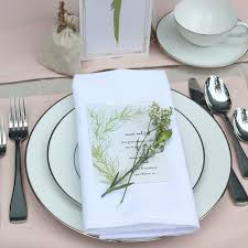 Linens For Weddings White Tablecloths White Cloth Napkins White Table Runners