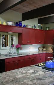 Red Kitchen Cabinets Bathroom Cabinets Red Kitchen Cabinets Chalk Paint Bathroom