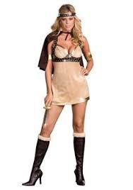 Barbarian Halloween Costume Womens Viking Dress Costume Halloween Small Medieval