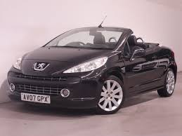 cabriolet peugeot used black peugeot 207 for sale hampshire