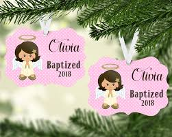 personalized baptism ornament baptism jammin threads