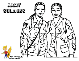 coloring pages free coloring pages of army women veterans day