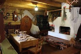 slavic ethnic home interior interior of old slavic house
