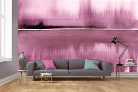 why wallpaper is back in vogue our pick of the best patterns louise body s wall murals taken from her prints and paintings can be ordered in bespoke colours the still lake mural shown in raspberry comes as five