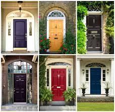 front doors orange feng shui front door color color of front