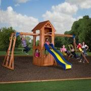 Wooden Backyard Playsets Outdoor Playsets