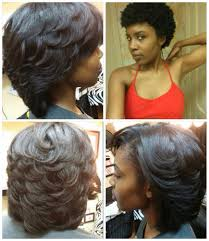 before and after hair cut and flat iron on natural hair yelp