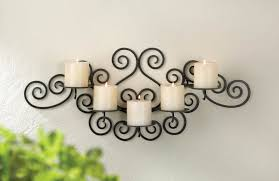 Sconces Decor Choose Wrought Iron Candle Wall Sconces For Decoration Modern