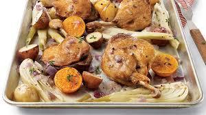 cuisiner cuisse de canard confite cuisses de canard confites aux légumes aux clémentines et au vin