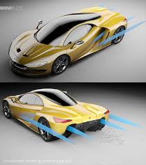 hybrid supercars rendering bmw hypercar to compete with mclaren p1 and laferrari