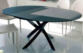 tavolo ovale legno tavolo rotondo barone di bontempi arredo design