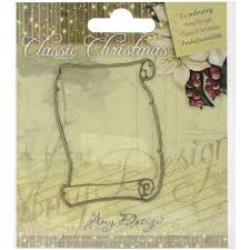 trading pattern shipping find it trading amy design classic christmas die scroll free