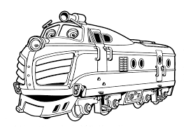 chuggington coloring pages harison for kids printable free
