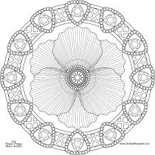 mandala coloring pages advanced level printable coloring home