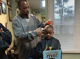 barbershop gives children discount if they read aloud while