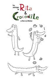 Activité Coloriage Une idée pour  Rita Et Crocodile  Facebook