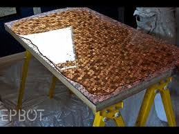 Epoxy Table Top Ideas by The 25 Best Penny Table Tops Ideas On Pinterest Penny Table