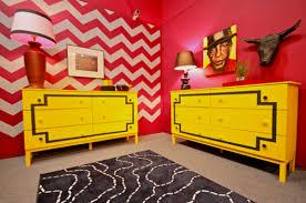 Chevron Bedrooms Mtv U0027s Real World Ex Plosion Of Stencils Stencil Stories