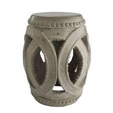 interlocking rings stool wisteria