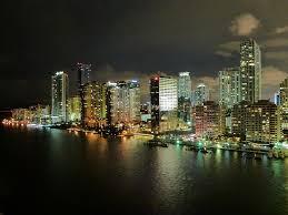 imagenes miami de noche florida horizonte miami noche nubes descargar fotos gratis