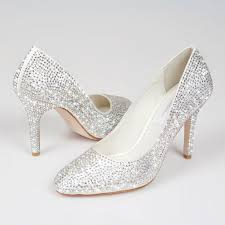 Bridal Shoes Swarovski Crystal Bridal Shoes Wedding Dress From Crystal Couture