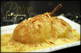 cuisine de doria poire pochée au vin blanc et sabayon la cuisine de doria