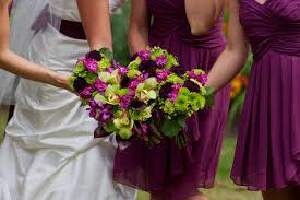 wedding flowers july magenta magic july 2012 wedding stadium flowers