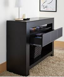 Black Console Table With Drawers 7 Modern Black Console Tables Cute Furniture