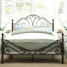 White Metal Headboard Metal Headboard Ikea Full Size Wrought Inspirations And White Iron
