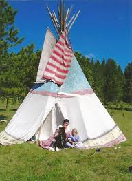 Backyard Teepee Make Your Own Teepee 7 Steps With Pictures