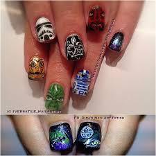 88 best star wars nail art images on pinterest star wars nails