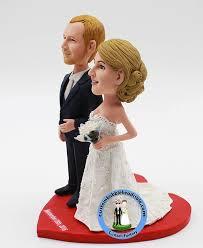 cake toppers bobblehead wedding bobble cake topper