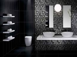 modern bathroom idea cool white black black bathroom ideas applied for modern bathroom
