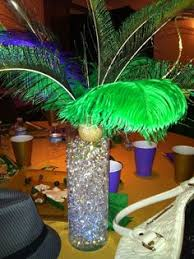 elegant mardi gras table centerpieces another view of the