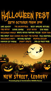 free halloween fest ledbury herefordshire live