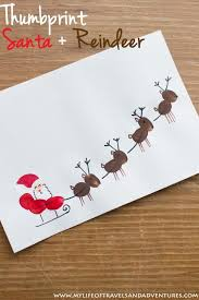 Kids Reindeer Crafts - best 25 kids christmas cards ideas on pinterest christmas cards