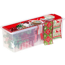 plastic ribbon plastic ribbon box and dispenser in gift wrap organizers