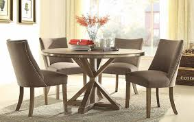 round dinette sets retro round table cushion chair chrome dining round dining sets 5 piece beaugrand round modern dining set usa furniture